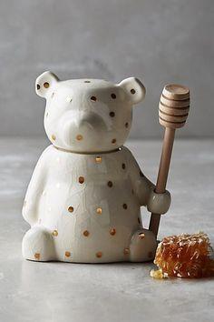 Super cute! Dottie Honey Pot #affiliate #Anthropologie #myredshoestories