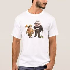 Shop Russell and Carl from Disney Pixar UP! T-Shirt created by disneyPixarUp. Personalize it with photos & text or purchase as is! Funny Stick Figures, Disney Pixar Up, Disney Gift, Disney Quotes, White Shop, My T Shirt, Funny Tshirts, Colorful Shirts, Fitness Models