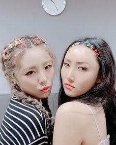 Check out Mamamoo @ Iomoio Kpop Girl Groups, Korean Girl Groups, Kpop Girls, Pelo Ulzzang, Wheein Mamamoo, Solar Mamamoo, Grunge Hair, K Pop, Girl Crushes