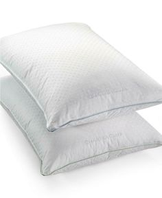 Charter Club European Feather & European Down Medium/Firm Density Standard/Queen Pillow, Hypoallergenic UltraClean Down, Created for Macy's - Pillows - Bed & Bath - Macy's King Pillows, Down Pillows, Best Pillow, Pillow Set, Feather Pillows, Pillow Protectors, Bed & Bath, Club, Queen