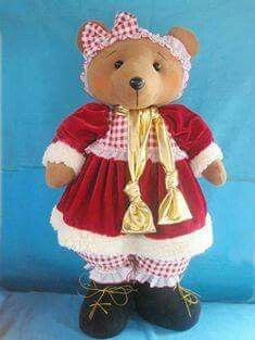 . Christmas And New Year, Toys, Teddy Bears, Couture, Google, Reindeer, Papa Noel, Bears, Christmas Decor