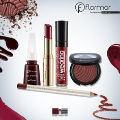 Los tonos oscuros le imprimen fuerza a tu maquillaje.  Unos mirada penetrante o unos labios seductores siempre serán perfectos para una fiesta de noche. Combínalo con un esmalte en tonos similares, será el toque perfecto para completar tu look.