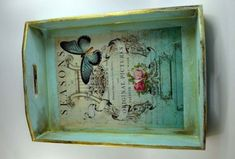 Image result for tray decoupage