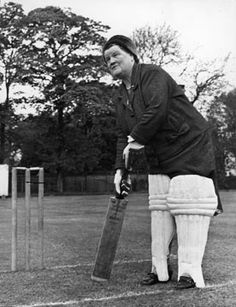 Bessie supporting a charity cricket match in aigburth