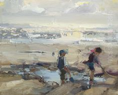 New Blog Post: http://rosepleinair.com/seascape-pleinair-best-days/ Seascape Pleinair: Figures Move! I won't lie to you: painting moving figures IS hard to do. Somehow you 'choose' a certain position, a composition that will work within the painting you want to create. For me this will mean scraping a LOT. And re-painting a lot again and again.... View More at: http://rosepleinair.com #Beachpainting, #Figures, #HowToPaintFigures, #Painting, #Paintingeveningb