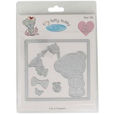 Tiny Tatty Teddy Girl Steel Die | Scrapbook Supplies at The Works