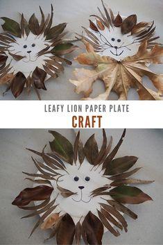 Leafy Lion Paper Pla