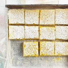 Lemon-Lime Bars Lemon and lime join together to create this creamy bar cookie recipe. Take a pan to your next potluck or tailgate party.