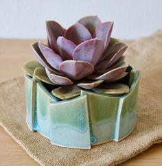 Ceramic Planter Abstract Ceramic Pot Clay Sculpture