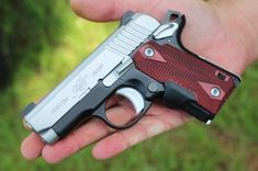 Kimber Micro CDP. Doesn't shoot like a micro.