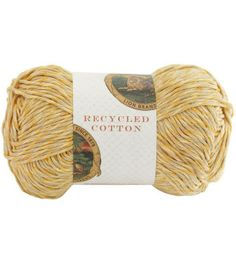 Lion Brand Recycled Cotton Yarn at Joann.com