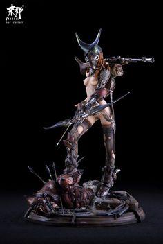 虫猎Insect hunter系列 第3弹《Iron corax No.2》原件kit_其他原型_末那Models