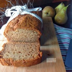 Pan de Pera -Pear Bread