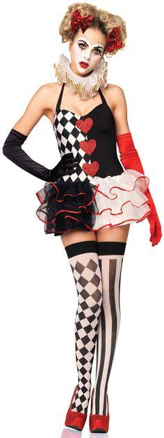 Sweetheart Harlequin Costume