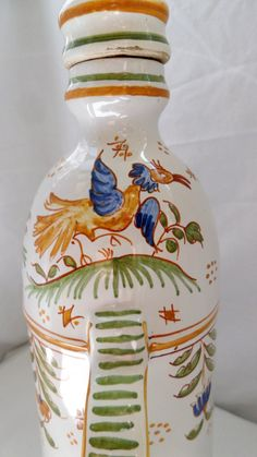 GO PENTYOFAMELIE.COM  - vintage ceramic jug Moustiers fairyland (SOLD OUT) by (GOURMLY Marketplace CLOSED)