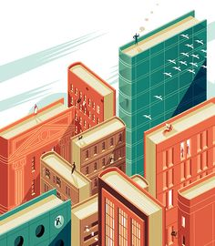 Illustrations by Dean Gorissen | Inspiration Grid | Design Inspiration