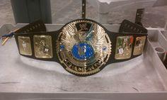 The Wrestle Mania XX commemorative Championship Belt from 2003.