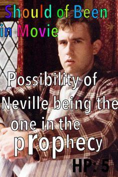 Harry Potter and the Order of the Phoenix  Should of Been in Movie Neville Prophecy Dumbledore Harry Trelawney Voldemort
