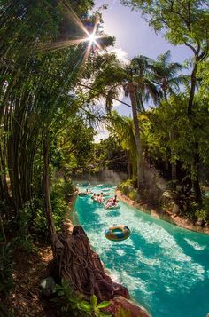 Typhoon Lagoon is now open for the year! Here are tips for being lazy in the lazy river. ;)