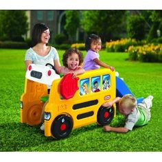 Little Tikes School Bus Activity Gym: $100