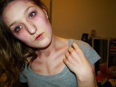 Zombie Makeup // Halloween - Maklina Makeup