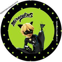 Então  meninas, mais um kit gratuito para você fazerem a festa da criançada,  agora é Miraculous as Aventuras de Ladybug e Cat Noir...