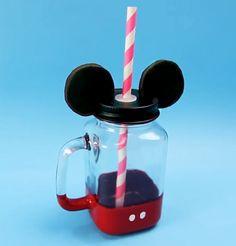 Dicas de Dany Martinez de como fazer você mesmo uma Mason Jar do Mickey
