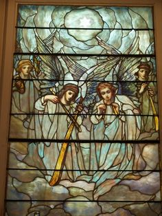 Description: Richmond, Virginia (VA): St Paul's Episcopal Church: The Fruit of the Spirit (installed c 1901, Tiffany Studios)