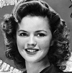 Shirley Temple, 1940s.