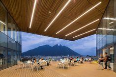 Monterrey Tec library and pavilion by Sasaki #architecture #architecturelovers #landmark #buildings #mexico