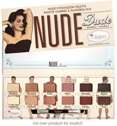 the Balm NUDE DUDE Paleta 12 cieni | OCZY \ Palety cieni MARKI \ The Balm |