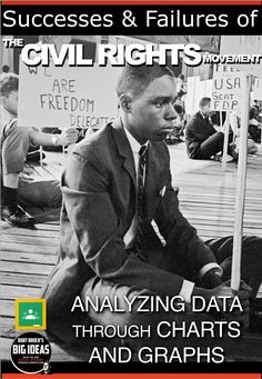 Civil Rights Movement: Successes & Failures Data Analysis is an excellent… Teaching American History, World History Teaching, American History Lessons, World History Lessons, History Education, Social Studies Notebook, Social Studies Classroom, Teaching Social Studies, Classroom Resources