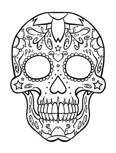 skull drawing - Buscar con Google