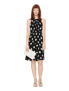 Kate Spade Daisy Dot Tie Back Dress - 2