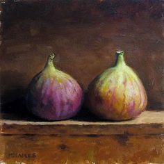 Pair of Figs - DAILY PAINTINGS