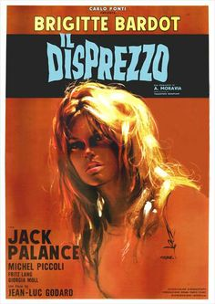 Il disprezzo (Contempt) | Italian movie poster, 1963.