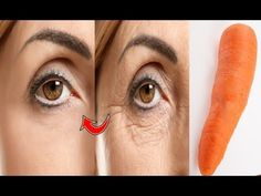 Anti-aging & tighten the upper skin & transform your skin & look 10 years younger with carrot Anti-aging, tighten the upper skin, transform your skin, and lo. Les Rides, Best Fruits, Body Treatments, Face And Body, Beauty Skin, Your Skin, Anti Aging, Beauty Hacks, Facial