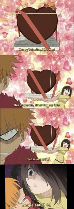 Darn, I should have put this up for Valentines Day. Oh well, so I'm a little late. Fruits Basket