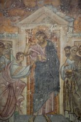 """Incredulità di San Tommaso. La parete sud; Balcani. Serbia. Sopochany; XIII secolo. - Ortodossa workshop """"Icona Russa"""""""