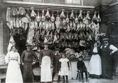 Victorian butchers shops were not for the squeamish | Flickr - Photo Sharing!