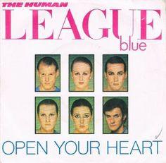 "Human League, The - Open Your Heart (Vinyl 7"") 1981 Portugal"