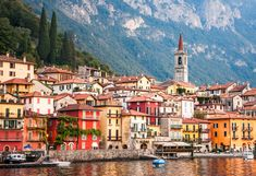 The Town of Varenna   Lake Como, Italy. We can come here on the morning of Sep 23 for some shooting.
