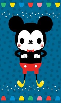 Kawaii Mickey Mouse