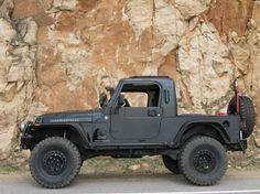Black Jeep Rubicon Truck