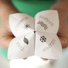 Post-Graduation Cootie Catcher