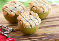 "-healthier: "" thecakebar: "" Apple Pie Baked inside of Apples Tutorial "" Jesus H Christ. """