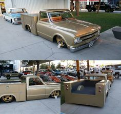 '68 Chevy pickup, never seen anybody hot rod a work truck, not bad...