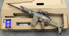 FNH SCAR 17 with Elcan SpecterDR    That's probably $6k sitting there.