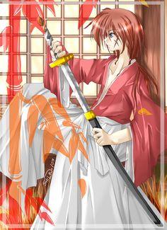 last try on submitting kenshin by klassikalfreak on DeviantArt