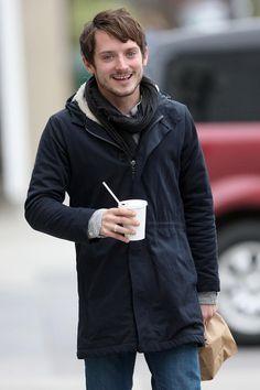 Love this look. Elijah Wood.